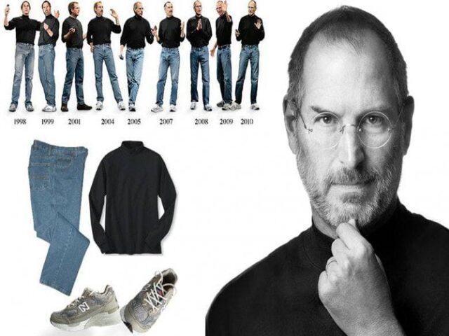 ملابس ستيف جوبز